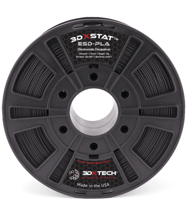 3DXTECH 3DXSTAT™ ESD-PLA Black - 1kg - 2,85 mm