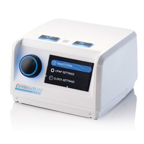 DeVilbiss Healthcare  Blue - CPAP machine- DeVilbiss Healthcare