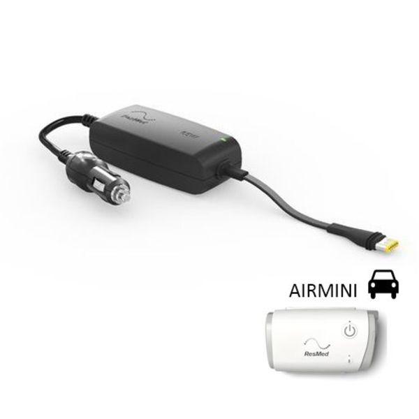 ResMed  Convertisseur 12/24 V - Fiche allume cigare - CPAP/PPC AirMini