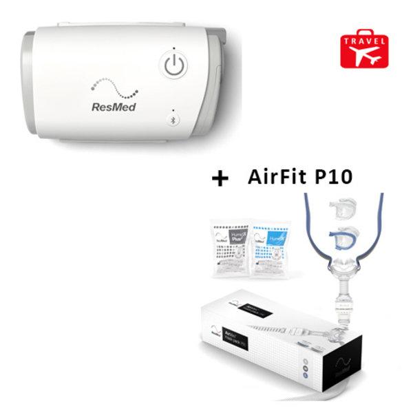 ResMed  AirMini Reis cpap + Masker AirFit P10