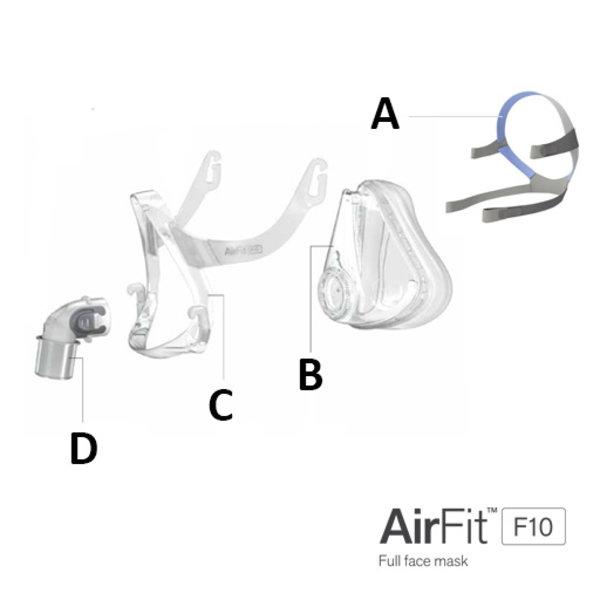 ResMed  AirFit F10 - Hoofdband
