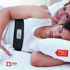 Oscimed  PosiBelt - Vibrating belt against snoring and apnea