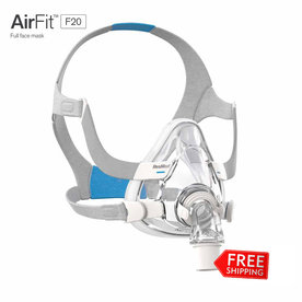 ResMed  AirFit F20 - Masque Facial CPAP/PPC  - ResMed