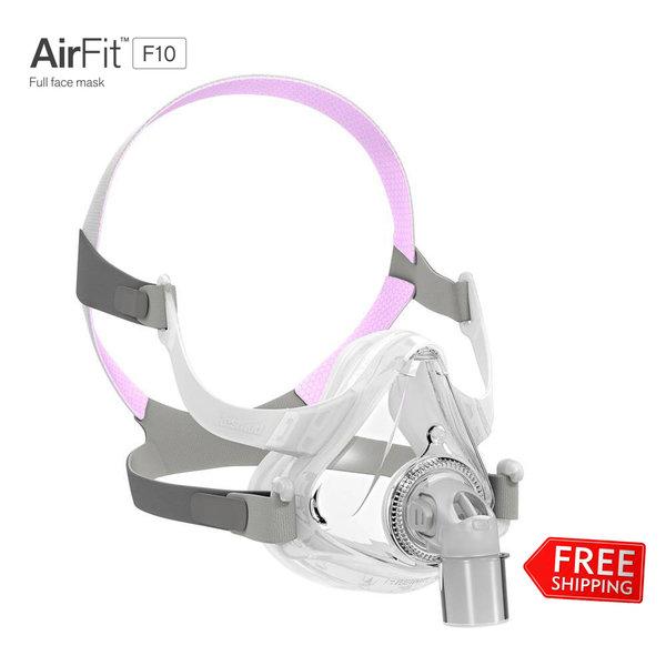ResMed  AirFit F10 - CPAP  Full Face Mask for Her- ResMed