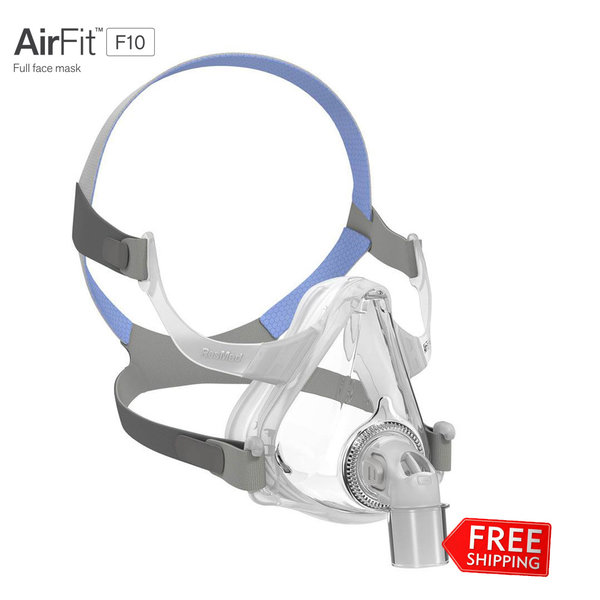 ResMed  AirFit F10 - Masque Facial CPAP/PPC  - ResMed