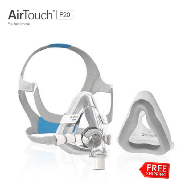 ResMed AirTouch F20 - Neus-Mond - CPAP masker - ResMed