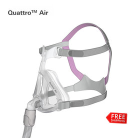 ResMed  Quattro Air for Her- Cpap  Full Face Mask - ResMed