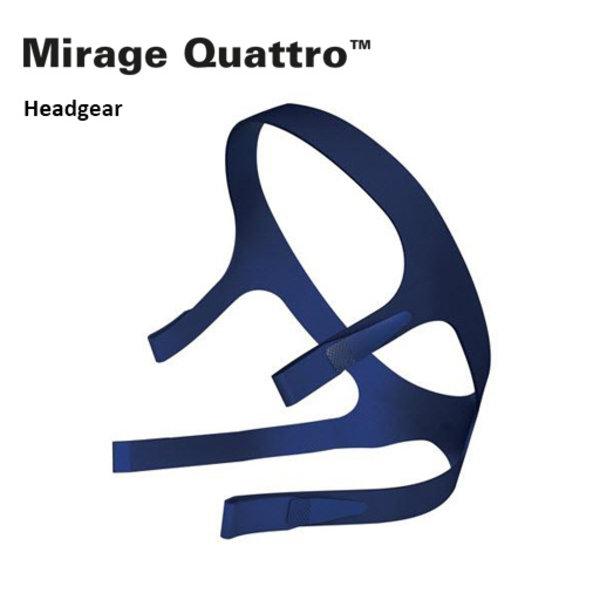 ResMed  Mirage Quattro - Hoofdband