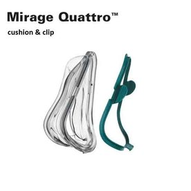 ResMed  Mirage Quattro - Cushion & Clip