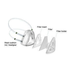 Löwenstein Medical  Lot de 10 filtres - Masque de protection Covid 19