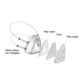 Löwenstein Medical  Set of 10 filters - Covid 19 protection mask