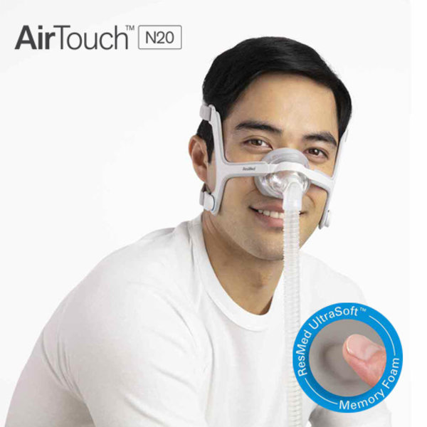 ResMed AirTouch N20 - Masque CPAP/PPC  nasal - ResMed