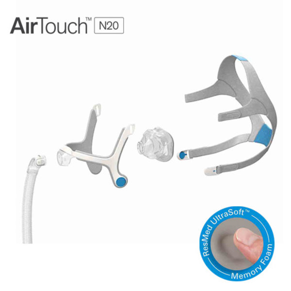 ResMed AirTouch N20 - Nasal CPAP / CPAP mask - ResMed