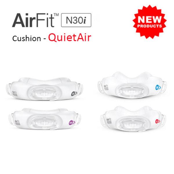 ResMed  AirFit N30i QuietAir - Masque nasal - ResMed