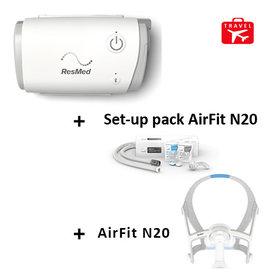 ResMed  AirMini Travel cpap + Mask AirFit N20