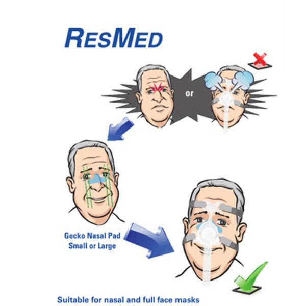 ResMed  Gecko Nasal  Patch - ResMed
