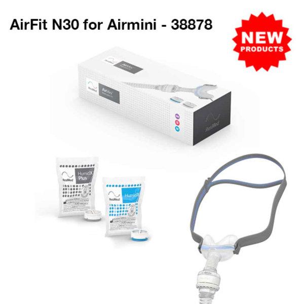 ResMed  AirFit N30 pour Airmini- ResMed