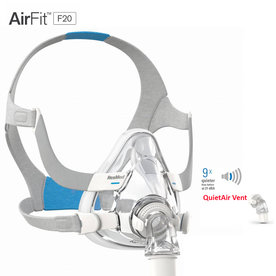 ResMed  AirFit F20 - CPAP Full Face Mask - ResMed