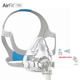 ResMed  AirFit F20 - Neus-Mond CPAP masker  - ResMed