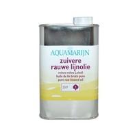 Aquamaryn Verf Zuivere Rauwe Lijnolie (kies hier uw inhoud)