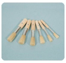 Tamponeer (Stencil) Brushes 10 pcs