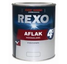 Rexo 4Q Aflak Hoogglans WIT
