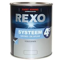 Evert Koning Rexo 4Q Systeem Grond/Aflak WIT (klik hier voor de inhoud)
