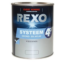 Rexo 4Q Systeem Grond/Aflak WIT
