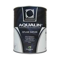 Aquamaryn Verf Aqualin (Linolux) Aflak Satijn Basis WIT  (klik hier voor de inhoud)