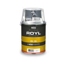 Royl Oil 2k WHITE nr 4561 content 1 Ltr