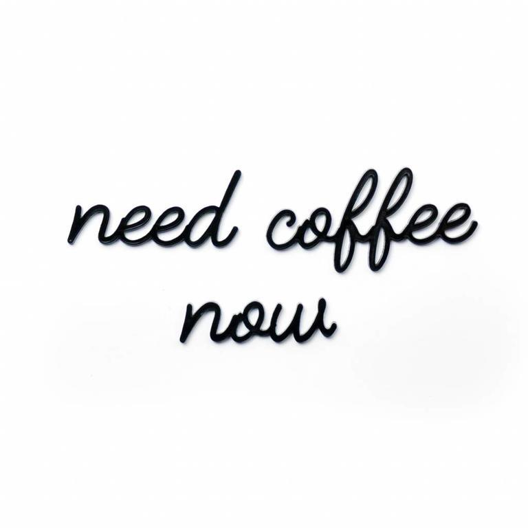 NEED COFFEE NOW - GOEGEZEGD