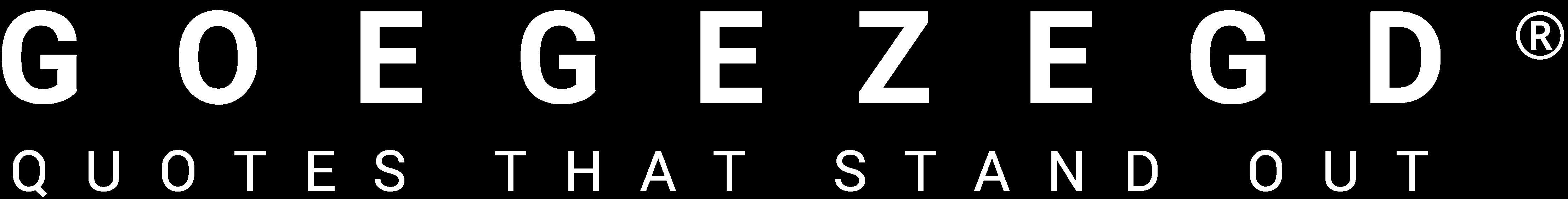 GOEGEZEGD ®
