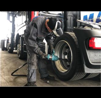 Montagem em pneus BAS (caminhão)