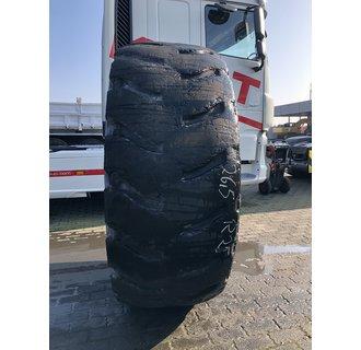 Uses Michelin XLD 26.5R25 L-4