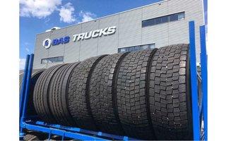 Gebrauchte LKW-Reifen