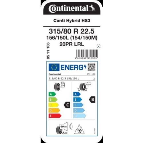 Continental Continental 315/80R22.5 HS3 Hybrid LKW-Reifen