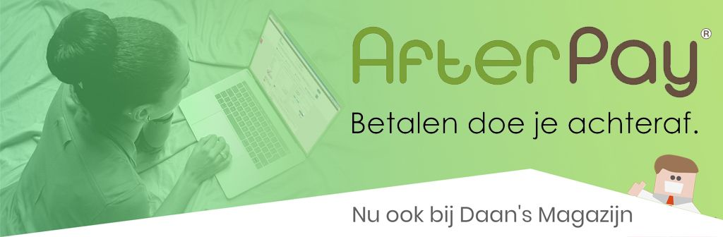 Nu ook AfterPay!