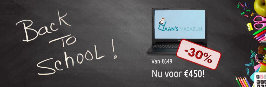 De ideale Back2School laptop bij Daan's Magazijn