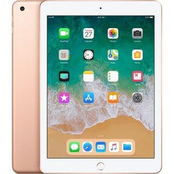 Apple iPad 9.7 Inch (2018-versie) 128GB Goud WiFi + 4G