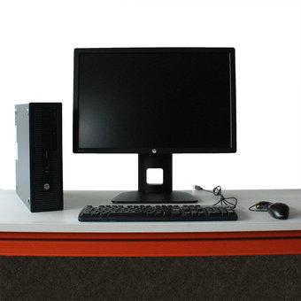 HP Elitedesk 800 G2 SFF i5 + HP Z24i