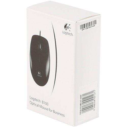 Logitech B100 Optische muis (bedraad)