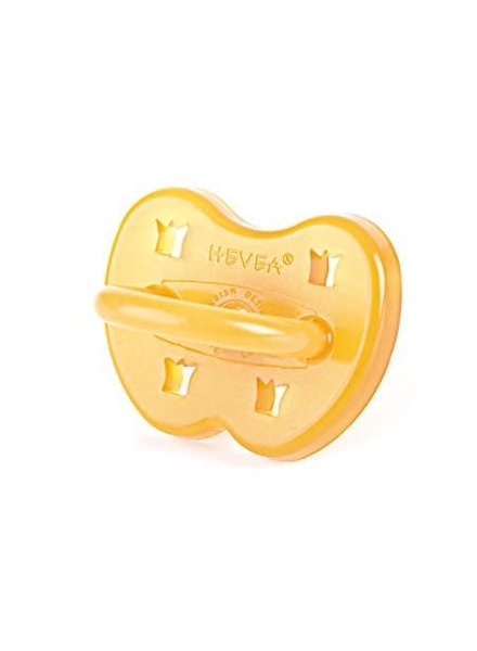 Hevea Pacifier - Crown - 0-3M