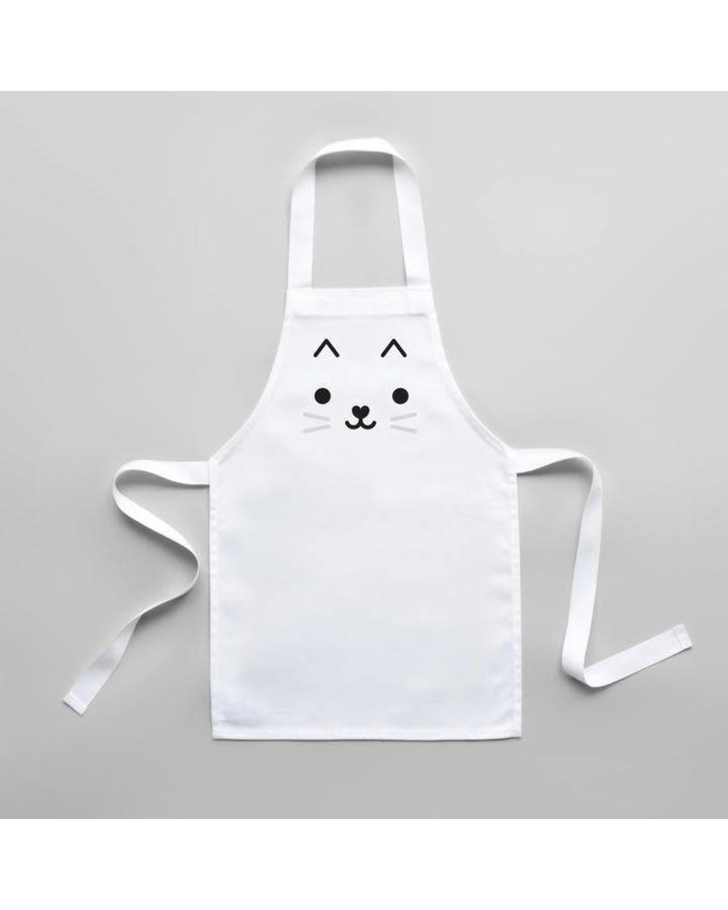 Buddy and Bear Cat Toddler Apron