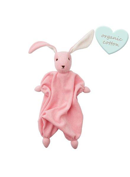 Hoppa Tino organic - Baby Pink/Off White