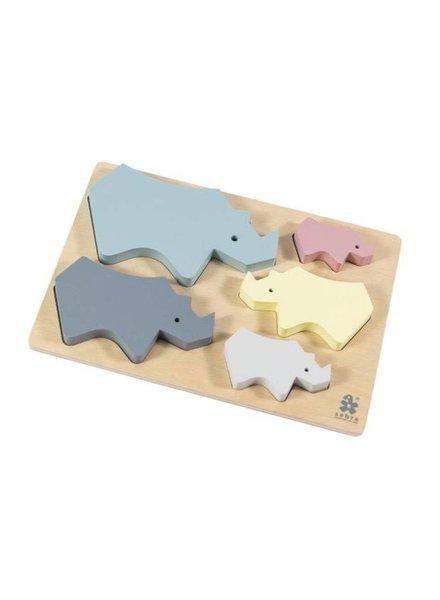Sebra Wooden Chunky Puzzle
