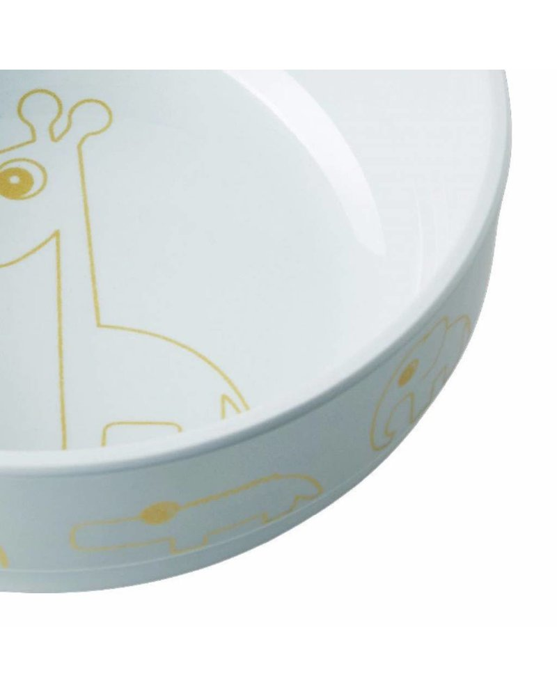 Done by Deer Yummy bowl, Contour, gold/blue