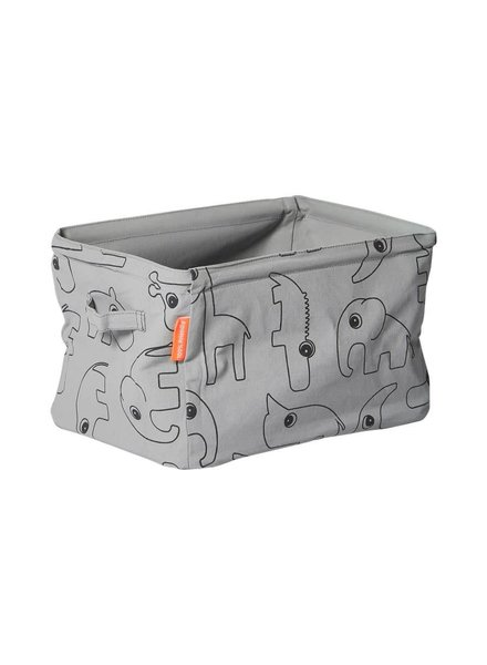 Done by Deer Soft storage, doublesided, grey