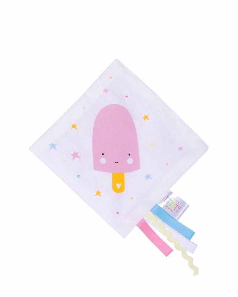 A Little Lovely Company Kraakdoekje - Ijsje Roze