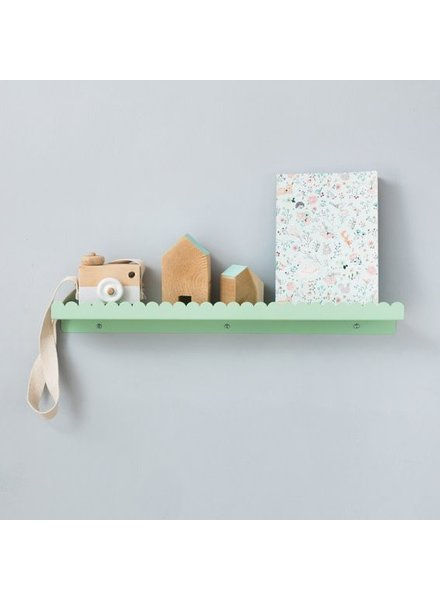 Land of Kids Wandplank 50cm mint