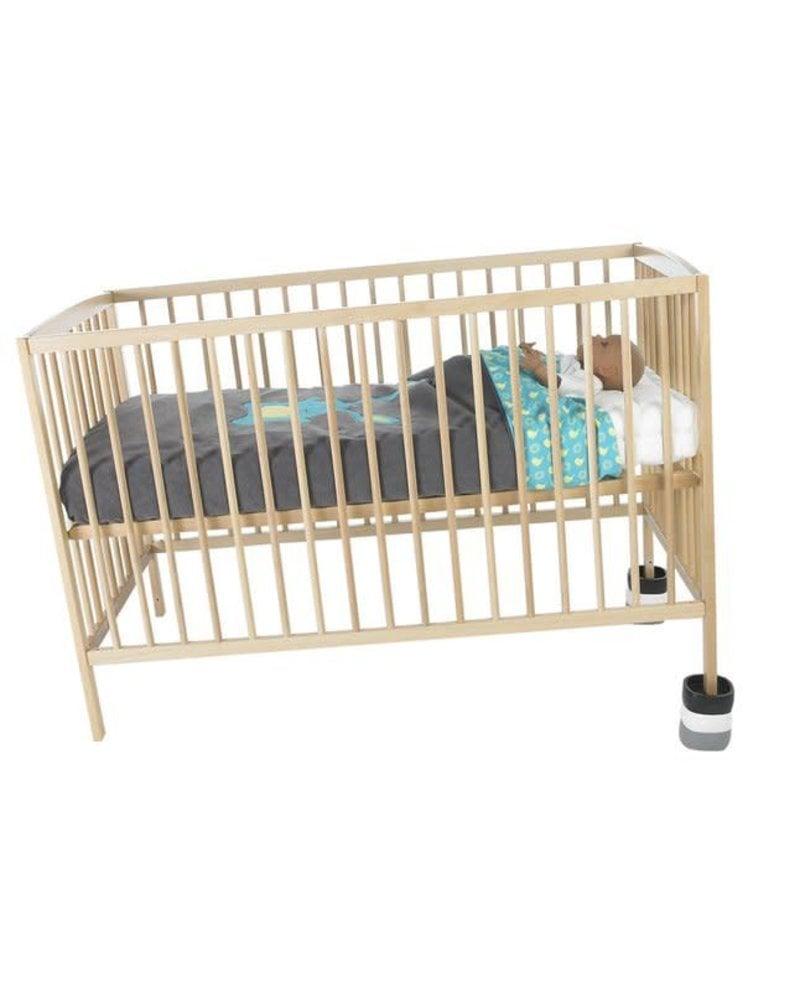 Spacebabies Baby bed blocks (zwart/wit/grijs)